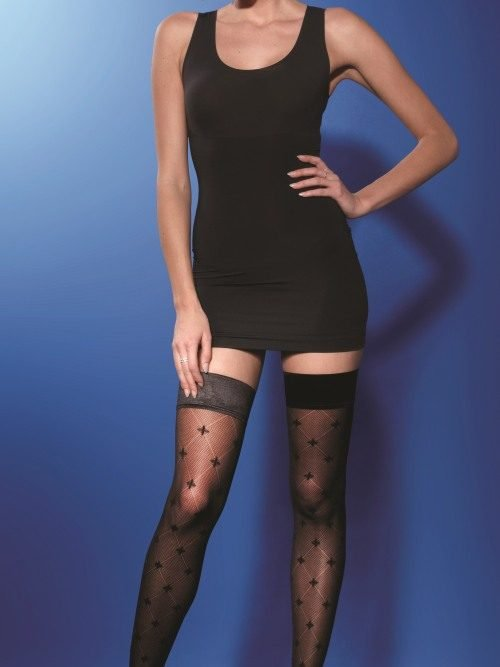 Charnos Diamond Pattern Hold Ups