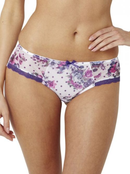 Panache Fern Floral Spot Brief