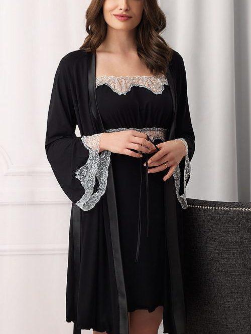 Vanilla Holly Robe
