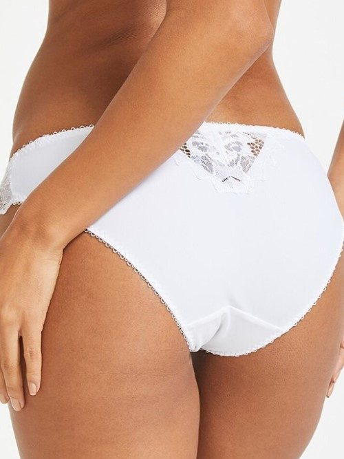 Lepel Fiore Mini Brief (white, back)
