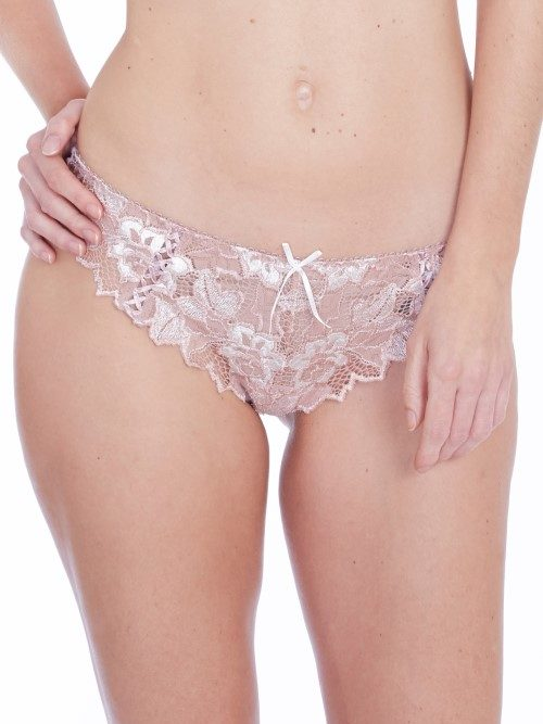 Lepel Fiore Thong (rose gold/ivory) at Under Wraps Lingerie