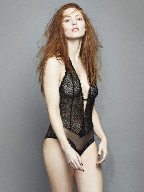 Lepel London Sophia Bodysuit (black) at Under Wraps Lingerie